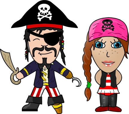 Talk Like a Pirate Day! – The Official FrogPlay Blog!